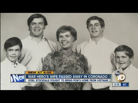 War hero's wife passed away in Coronado