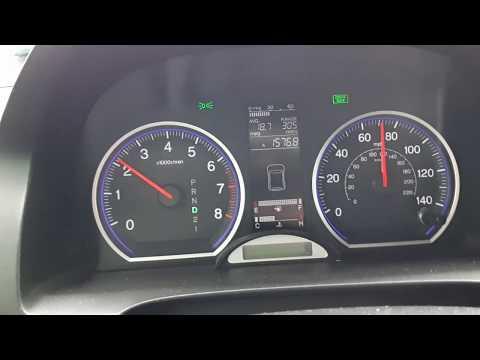 Honda cr-v 2.4 Американка- расход топлива.