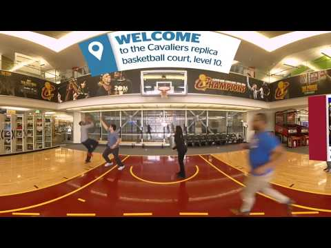 Experience Quicken Loans One Campus Martius in 360° Virtual Reality