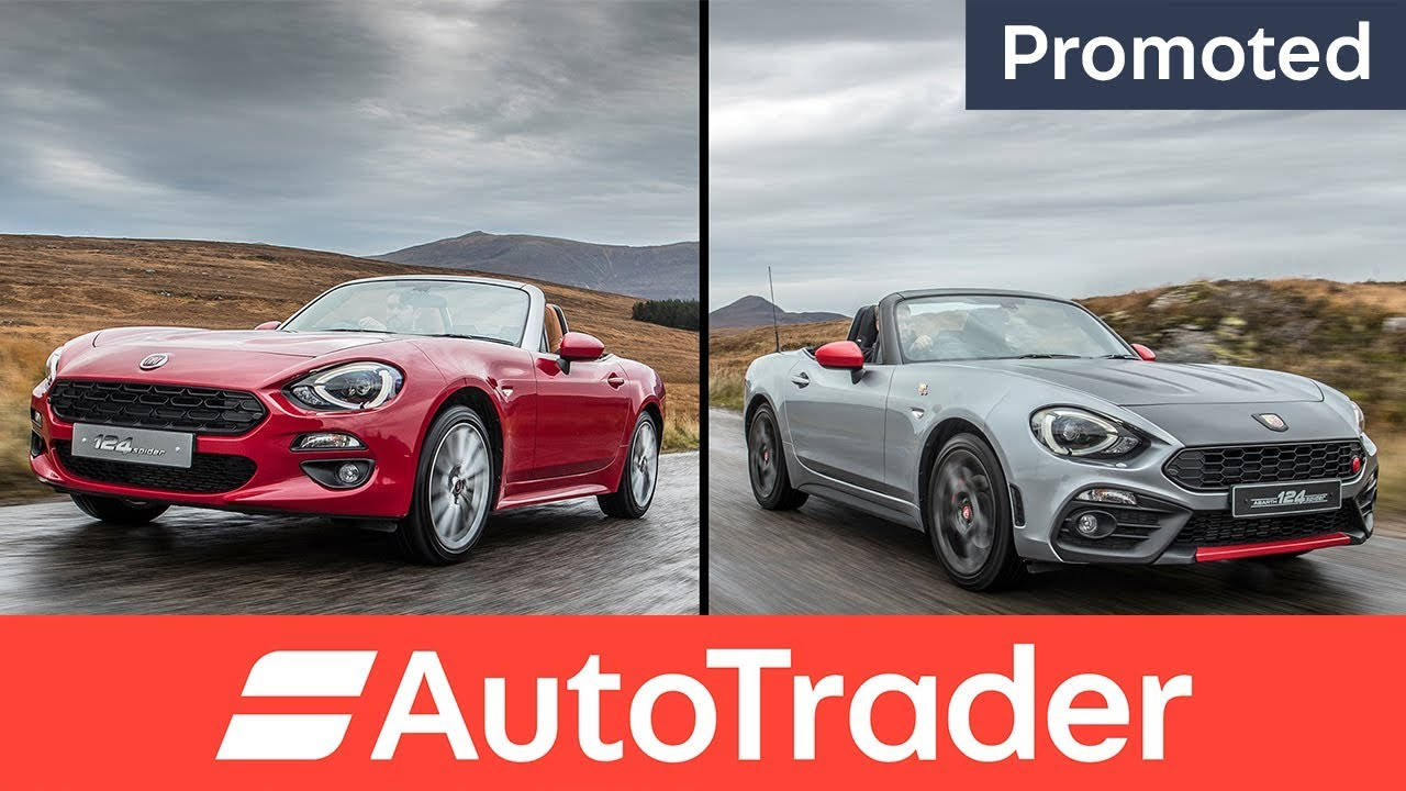 Fiat 124 Spider or Abarth 124 Spider? Which 124 are you? (Promoted) - Dauer: 108 Sekunden