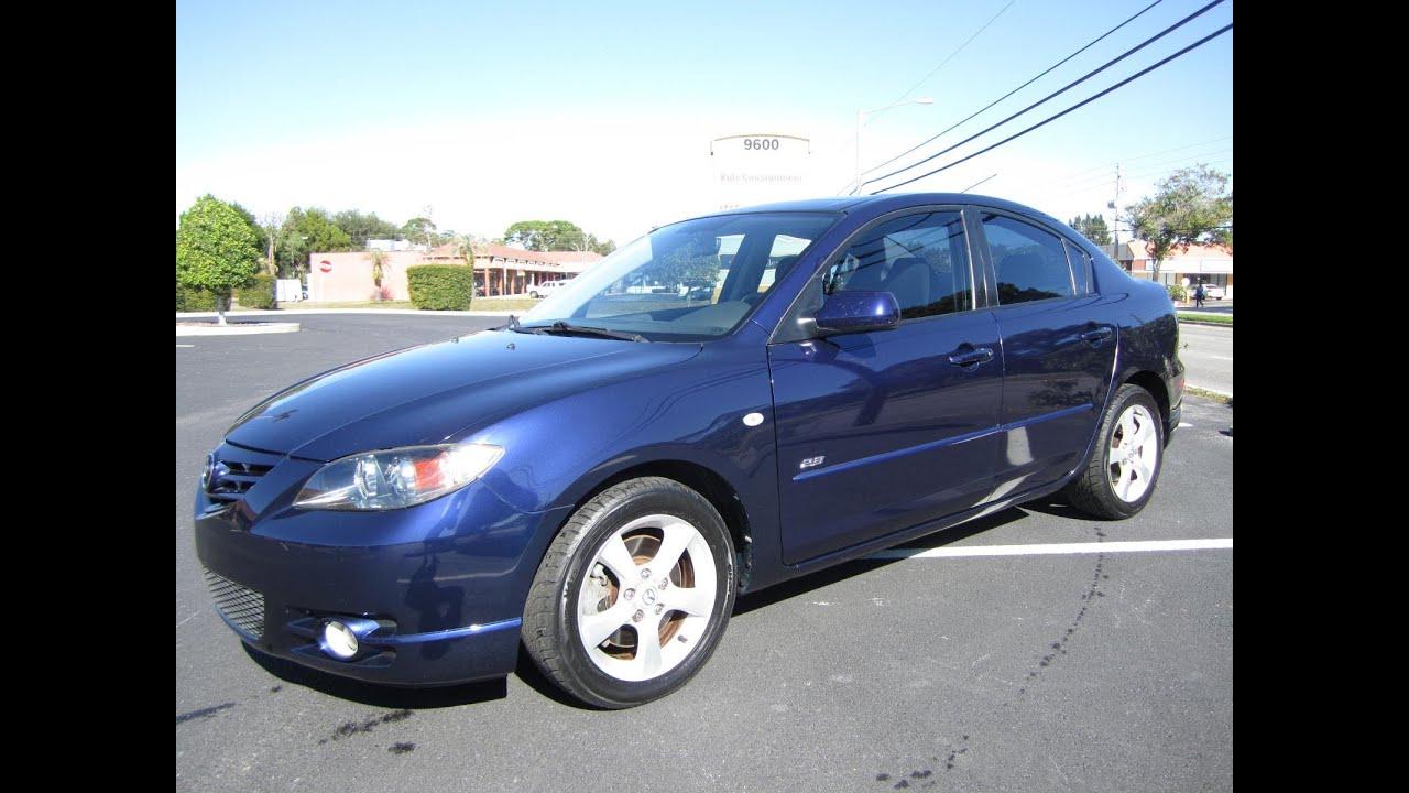 sold 2005 mazda 3 s sedan meticulous motors inc florida for sale [ 1280 x 720 Pixel ]