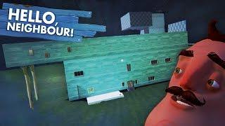 SUPER SECRET GIANT HIDDEN HOUSE!!! (Hello Neighbor Alpha 2 / Hello Neighbour Gameplay)