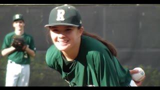 Emily Tsujikawa - Pitches a one-hit shutout - Redmond High School JV