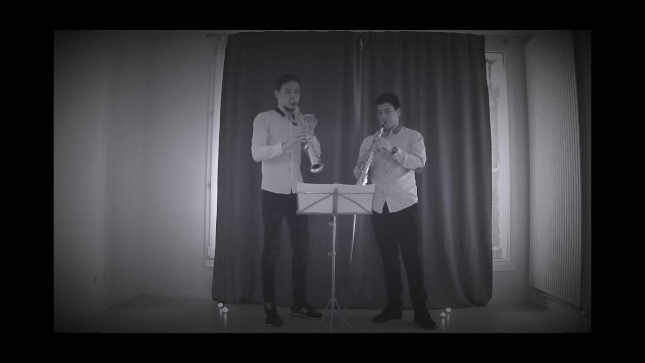 Telemann - Duetto TWV 40:107 by Valentin Kovalev & Carlos Ordóñez