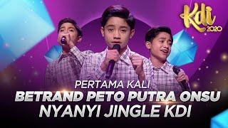 PERTAMA KALI! Betrand Peto Putra Onsu Nyanyi Jingle KDI 2020