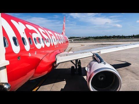 TRIP REPORT | Thai AirAsia | Airbus A320 | Siem Reap - Phuket (REP-HKT)