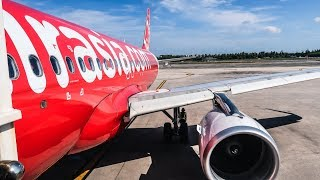 TRIP REPORT   Thai AirAsia   Airbus A320   Siem Reap - Phuket (REP-HKT)