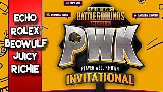 PUBG Mobile PWK Invitational Tournament | Day 1