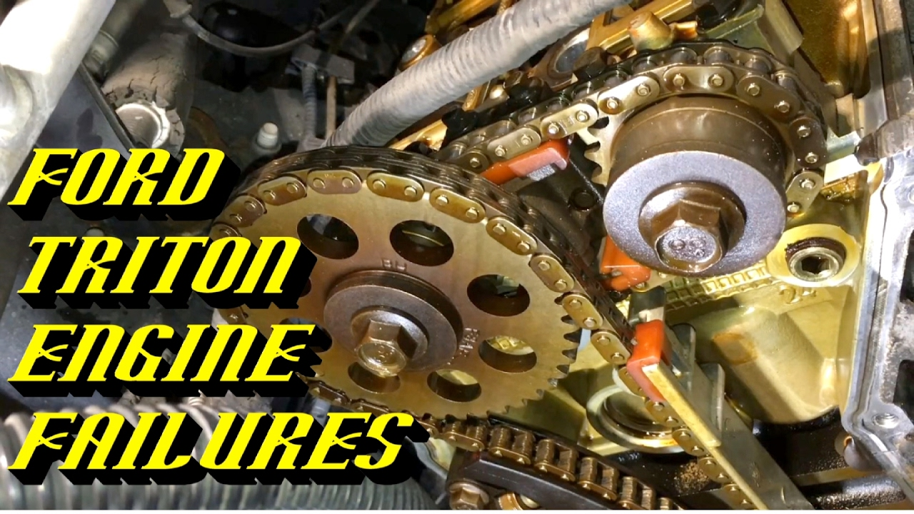 Ford 4 6l  U0026 5 4l Triton Engines  Common Failure Points To