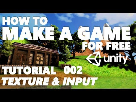 Unity Tutorial For Beginners - How To Make A Game - Part 002 - Snap, Textures & Input