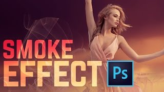 How to Create a Smoke Dispersion Effect in Photoshop CC  | Educational
