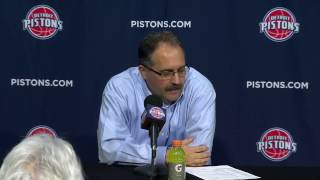 "Stan Van Gundy on his Pistons: ""We"