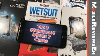 Top 5 Waterproof iPhone 7 Cases (you might need one even though the iPhone 7 water resistant)