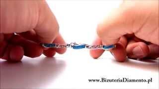 Srebrna bransoletka - Biżuteria Diamento