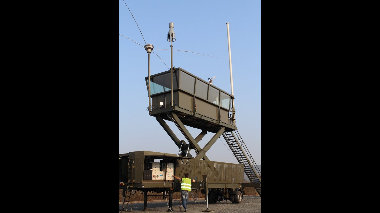 Mobile Air Traffic Control Tower - YouTube