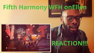 Fifth Harmony Work from Home on Ellen (REACTION)