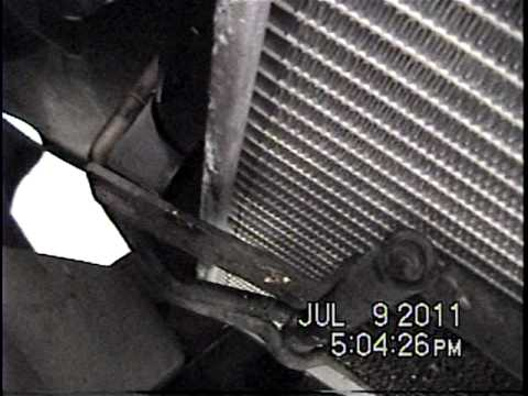 Dodge Ram Radiator Removal Youtube