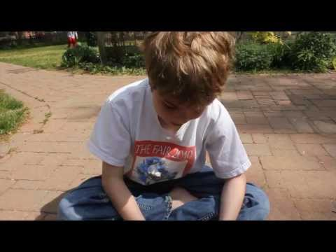 9 year old discusses the universe - full...