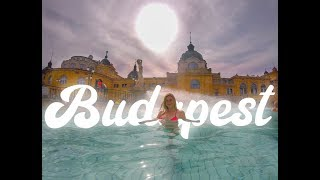 Visiting the Széchenyi Baths in BUDAPEST HUNGARY