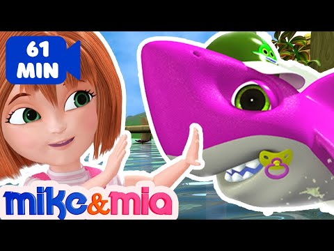 baby-shark-doo-doo-doo-doo-|-sing-and-dance-|-animal-songs-|-nursery-rhymes-by-mike-and-mia