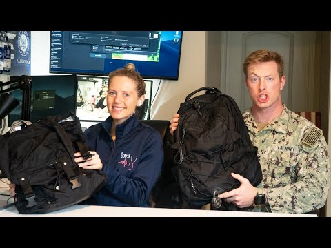 US Navy Sailor And Trauma Nurse | What's In Our Work Bags