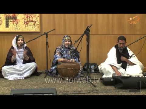 Chant Sahraoui Hassani par l'ensemble Marocain : Batoul Marouani - infosahara.com