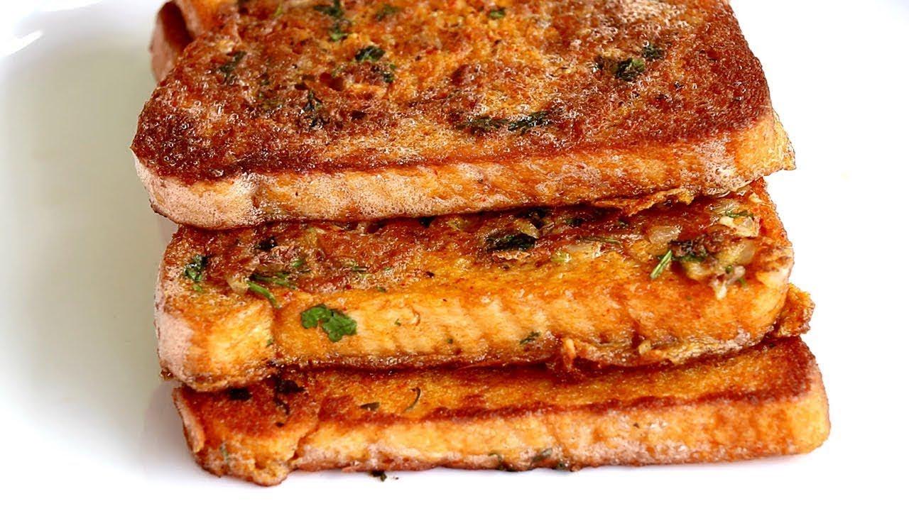 Spicy Bread Omelette Recipe | Bread Omelette Street Food l Perfect for Kids Breakfast