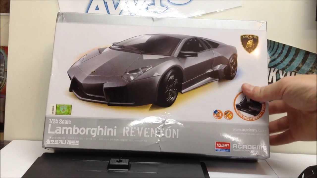 lamborghini reventon kit review & finished build. not what i was