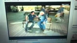 brad paisley waiting on a woman video with Andy Griffith
