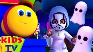 Hantu Mari Berburu | Lagu halloween | Kartun pendidikan | Kids Tv Indonesia | Bayi sajak