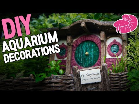 DIY Aquarium Decorations! And Next Themed Tank Announcement!