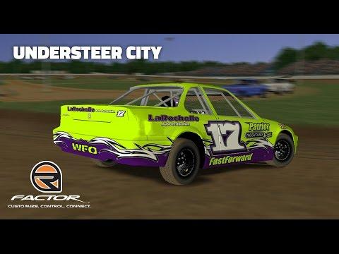 rFactor: Understeer City (Mini Stocks @ Florence Speedway)
