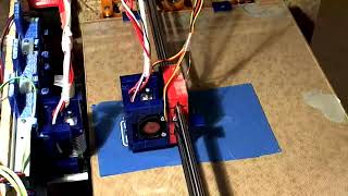 Dual Extrusion - Tool Switching - 3x3 Checker Board