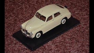 ГАЗ М-20 ПОБЕДА 1:24 легендарные советские автомобили #3 Hachette/Model of the car GAZ M-20
