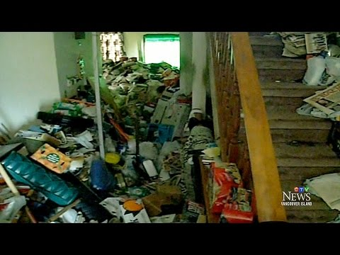 Neighbours say hoarder's house 'Absolute slum'