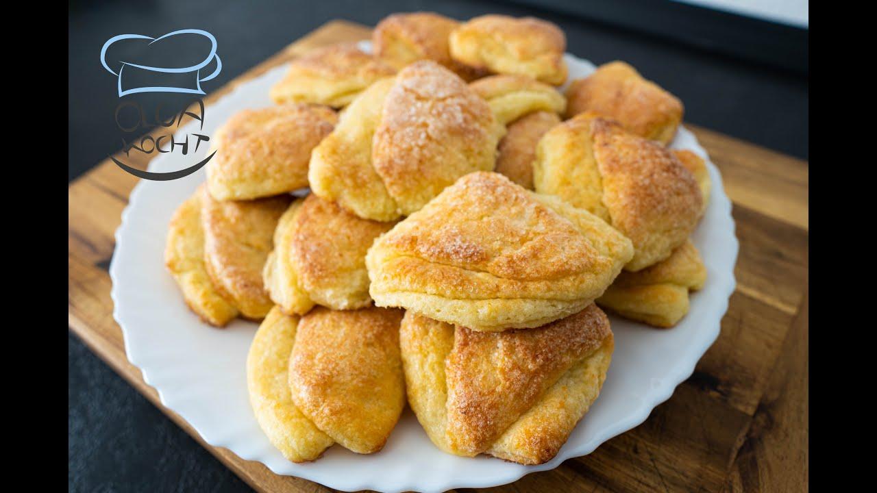 Gänsefüßchen Kekse Rezept - Gusinije Lapki