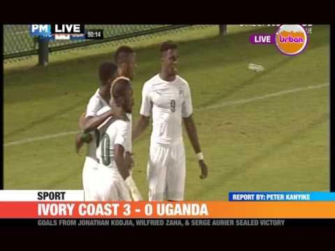 #PMLIVE #Sport IVORY COAST 3 - 0 UGANDA