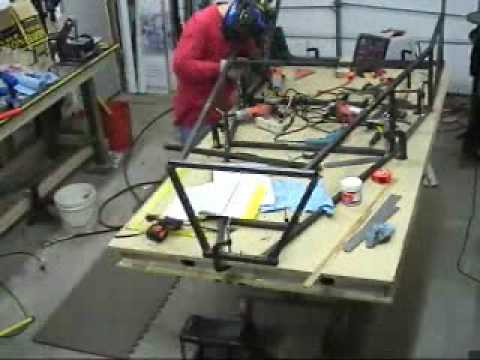 Lotus 7 Replica For Sale >> Build a Locost 7: Step 1 - Fabricate the Frame - YouTube