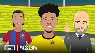 Jadon Sancho: Dortmund's diamond lost by Man City