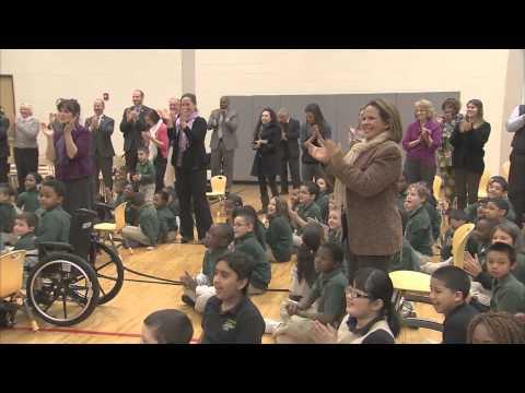 Hartford Fifth-Grade Teacher Tamika Knight Wins 2012 CT Milken Educator Award