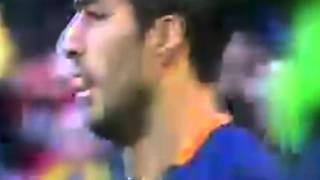 Luis Suarez Amazing Volley Goal | Barcelona 2 - 0 Real Sociedad | La Liga 2015
