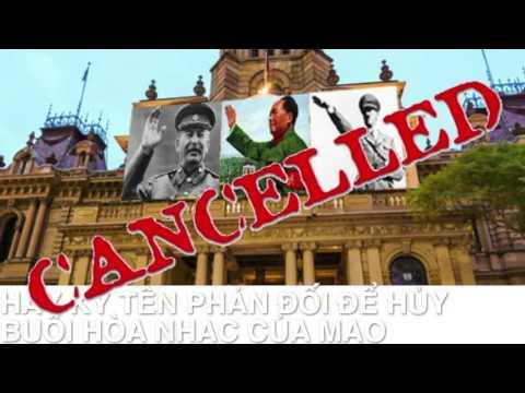 TTSHCĐ Huỷ bỏ buổi hoà nhạc về Mao Trạch Đông