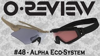 Oakley Reviews Episode 48: Alpha Eco-System (M Frame Alpha & Halo Goggle)