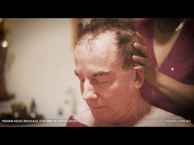 Indian Head Massage For Men in Applecross, Perth by Prana