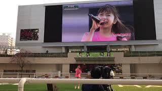 2018年3月25日に阪神競馬場で開催された鈴木亜美のノーカット動画(前半)...