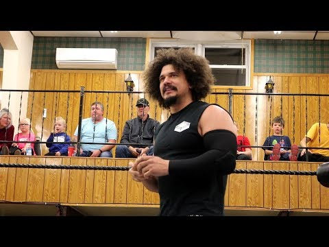 Carlito (Former WWE Superstar) Vs The Answer - ECPW - Reserve Mines, NS - October 11th 2019