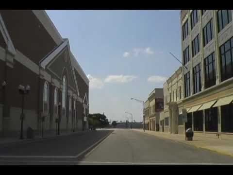 A Drive through Downtown Hammond, Indiana (June 2012)