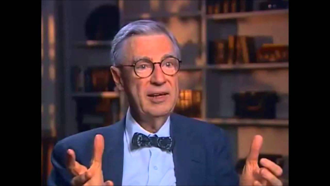 fred rogers on education and teaching youtube. Black Bedroom Furniture Sets. Home Design Ideas
