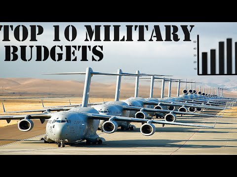 Top 10 Defense  Budget of World Powers 2016  HD