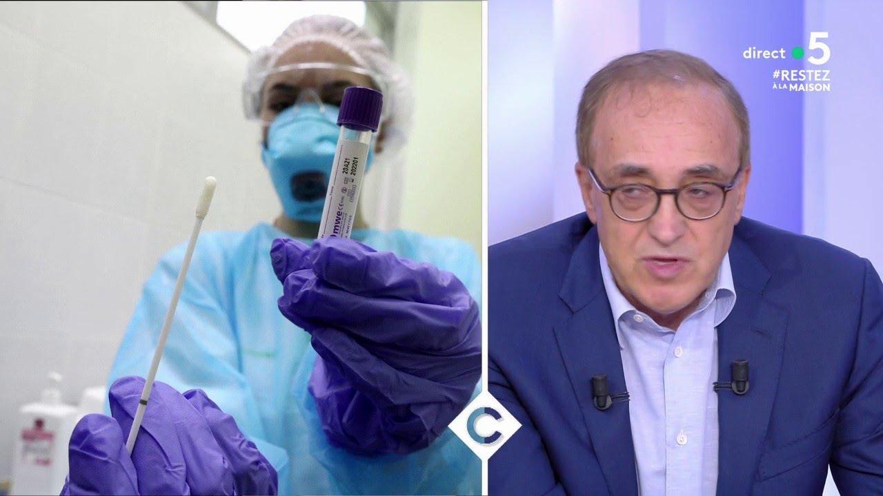 Les dernières découvertes sur le coronavirus - C à Vous - 27/03/2020